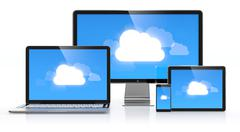 Stock Illustration of cloud computing