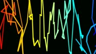 Colorful graffiti Stock Footage