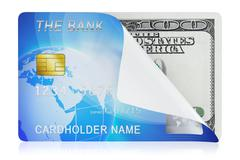 Stock Illustration of credit card