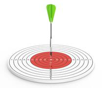 Stock Illustration of dart and target