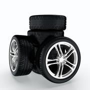 Car wheel Stock Illustration