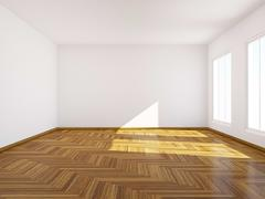 Empty room. Stock Illustration