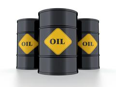oil barrel - stock illustration
