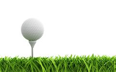 golf ball - stock illustration
