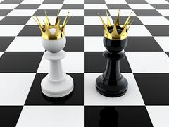 Stock Illustration of two kings