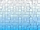 Abstract cube structure Stock Illustration