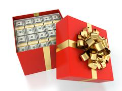 money present - stock illustration