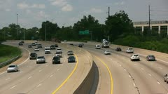 Hiway Traffic Stock Footage