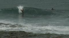 Australian teens boarding freestyle Stock Footage