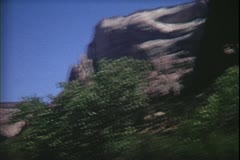 8mm archive-Zion National Park Stock Footage