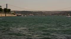 Istanbul Bridge Stock Footage