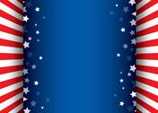 Stars decorative frame Stock Illustration