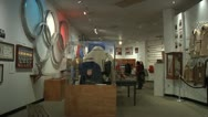 Inside Lake Placid Winter Olympic Museum-2 Stock Footage