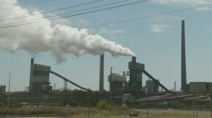 Industrial Air Pollution (6) Stock Footage