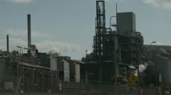 Industrial Air Pollution (3) Stock Footage