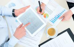 Business analytics Stock Photos