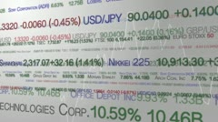 Stock market Stock Footage