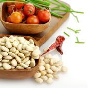 Stock Photo of white beans