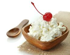 Stock Photo of cottage cheese