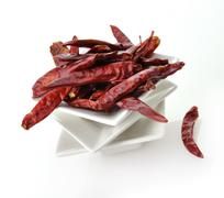 hot red pepper - stock photo