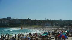 Australian beach Stock Footage