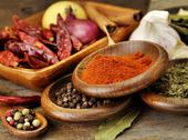Stock Photo of spices assortment