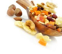 Dry fruits mix Stock Photos