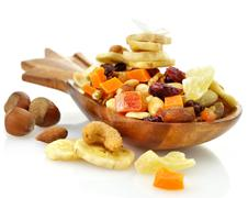 dry fruits mix - stock photo