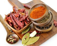 spices assortment - stock photo