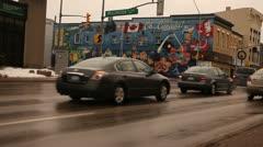 Aurora town, Ontario, Canada Stock Footage