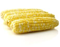 Fresh raw corn Stock Photos