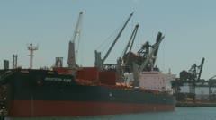 Port Kembla industrial area, Australia (3) Stock Footage