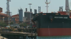 Port Kembla industrial area, Australia (2) Stock Footage