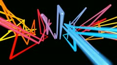 Stock Video Footage of graffiti colours