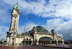 Stock Photo of railway station of limoges