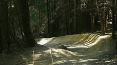 Mountain biking Stock Footage