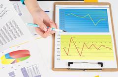 profitability analysis - stock photo