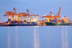global business - stock photo