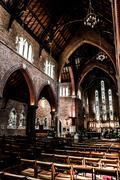 church in perth, australia - stock photo