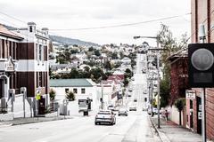 hobart suburb, tasmania, australia - stock photo