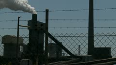 Industrial Air Pollution (10) slow Stock Footage