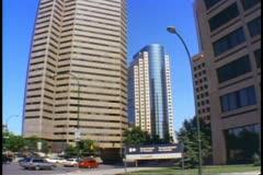 Downtown Winnipeg, Canada 1990 Stock Footage