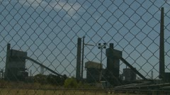 Timelapse Industrial Air Pollution (with sound) Stock Footage