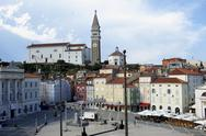 Stock Photo of slovenia / piran / day time overview