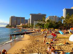 Bondi beach in Australia - stock photo