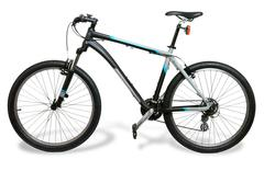 Mountain bicycle bike with shadow Stock Photos