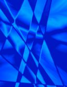 Blue stained glass effect background Stock Photos