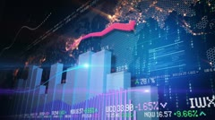 Stock exchange concept Stock Footage