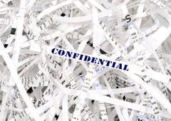 Confidential - stock photo