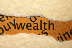 Stock Photo of wealth concept
